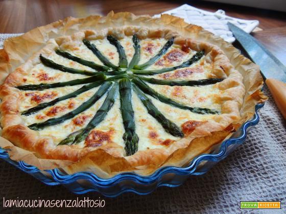 Torta salata asparagi e jocca