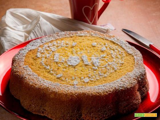 Tutto il gusto della torta soffice al sapore di arancia…