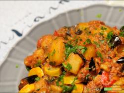 Aloo Baingan – patate e melanzane a modo mio
