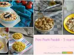 Primi piatti freddi – 5 ricette infallibili