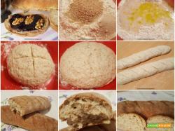 Filoni di pane alla crusca