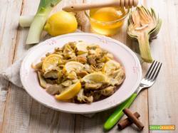 Carciofi al miele e limone: una delizia sana e raffinata!