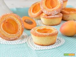Mini tortine all'albicocca e succo di frutta senza glutine