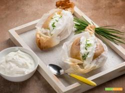 L'originale bontà delle patate al cartoccio con panna acida!