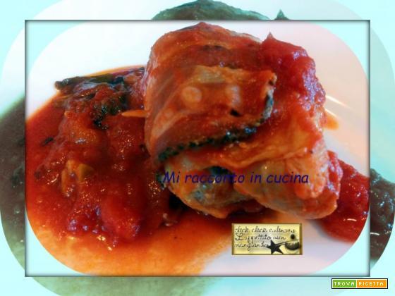 Involtini di Pollo Ripieni Cucinati con il metodo Amc