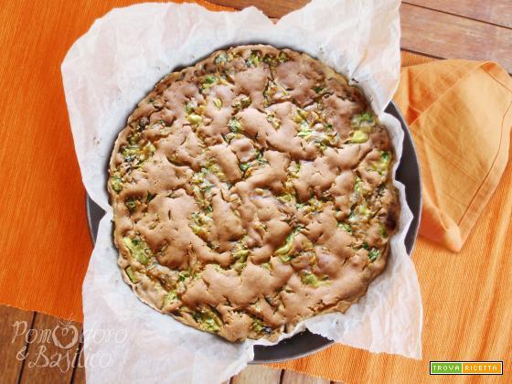 Farinata Zucchine e Portulaca