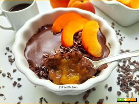 Porridge Freddo Proteico al Cioccolato Baobab e Albicocche