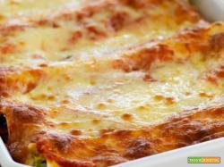 Cannelloni Mozzarella e prosciutto