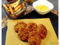 Polpette aromatiche di lenticchie rosse con burro d'arachidi