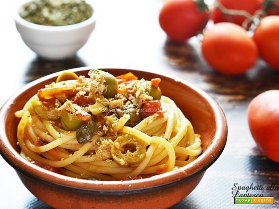 Spaghetti alla Pantesca ricetta siciliana