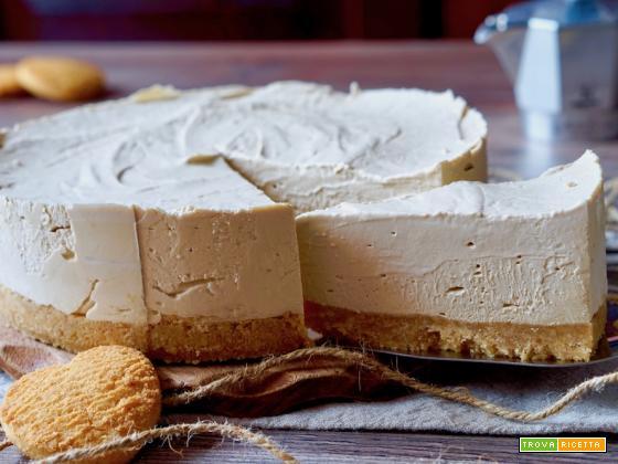Cheesecake al Caffè Senza Cottura