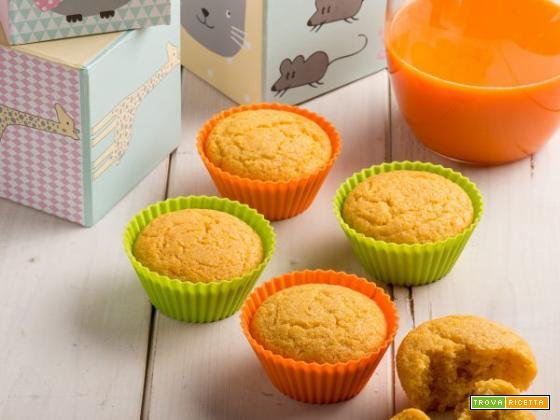 Muffin allo yogurt con estratto di carote: facili e golosi!