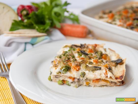 Lasagne veloci alle verdure * Ricetta vegetariana