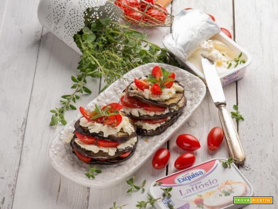 Parmigiana di melanzane estiva senza glutine, senza lattosio e a basso contenuto di nichel