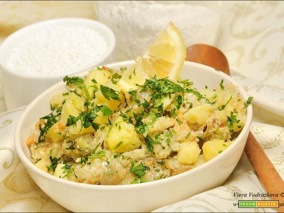 Sabudana Khichdi con perle di tapioca gluten free