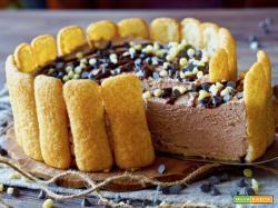 Torta di Pavesini Cioccolato al Latte