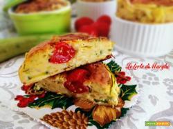 Ricetta maffins alle zucchine e menta