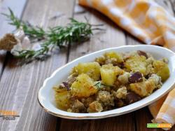 Patate e melanzane sabbiose