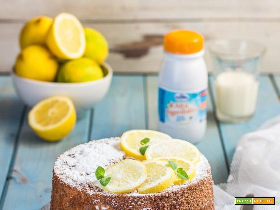 Chiffon cake al limone: ricetta senza latte, alta e soffice