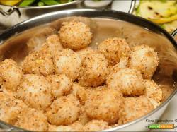 Piccante Ammini Kozhukattai palline gluten free