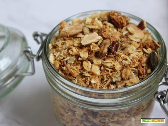 Come fare la granola croccante e gustosa in casa