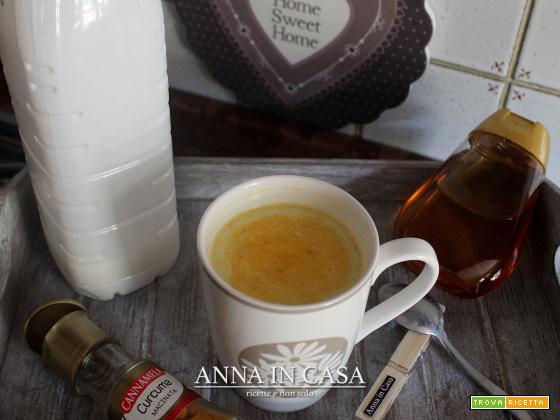 Golden milk Annaincasa