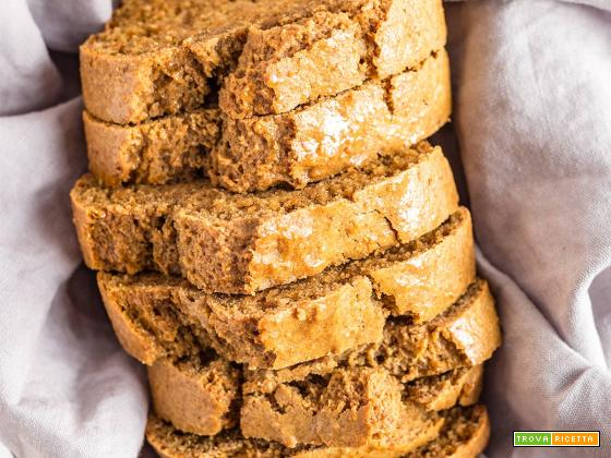 VEGAN CARROT ALMOND LOAF CAKEwith wholemeal spelt flour