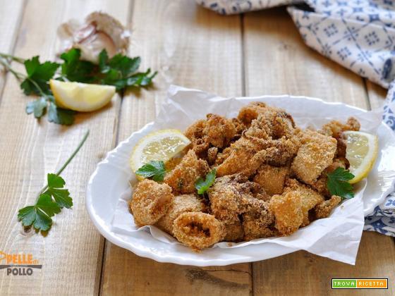 Calamari al forno impanati