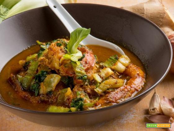 Gamberi al curry: un piatto dallo sfizioso sapore orientale!