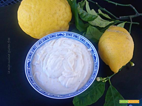 Frosting con mascarpone e limone