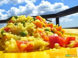 La Paella vegetariana olè!