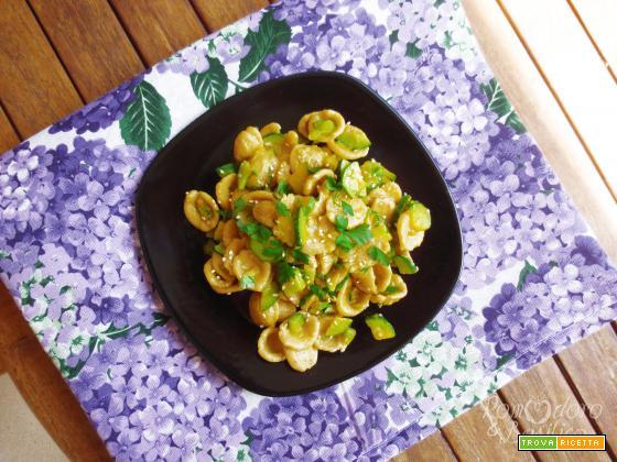 Orecchiette Zucchine e Zafferano