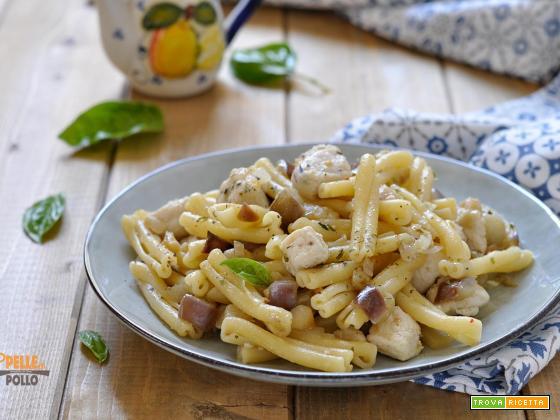 Pasta Con Pesce Spada E Melanzane Ricetta Trovaricettacom