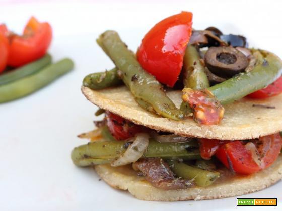 Fagiolini lessi in insalata, ricetta gustosa