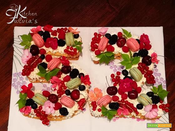 Cream tart con frolla alle noci pecan – la torta del 2018
