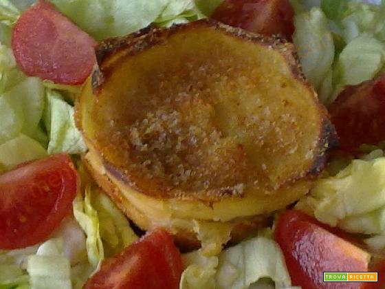 Sformatini di patate con crema di tonno e ricotta