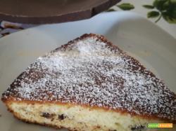 Torta con briciole di cioccolato