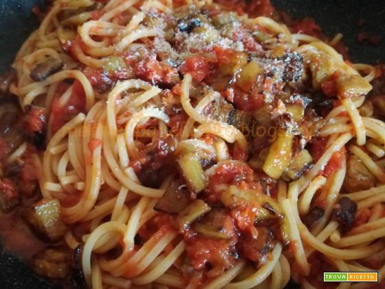 Spaghetti quadrati alla norma