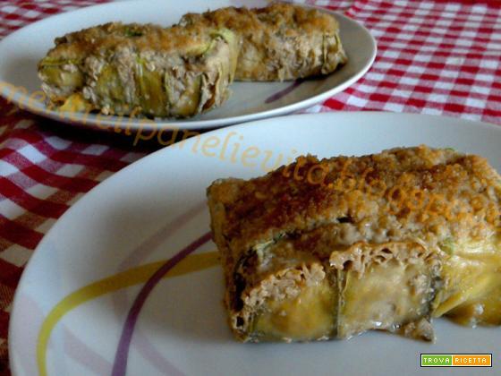 Bauletti di carne e zucchine
