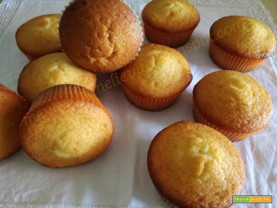 Muffin al limone con farina di riso