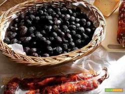 Olive nere infornate alla calabrese