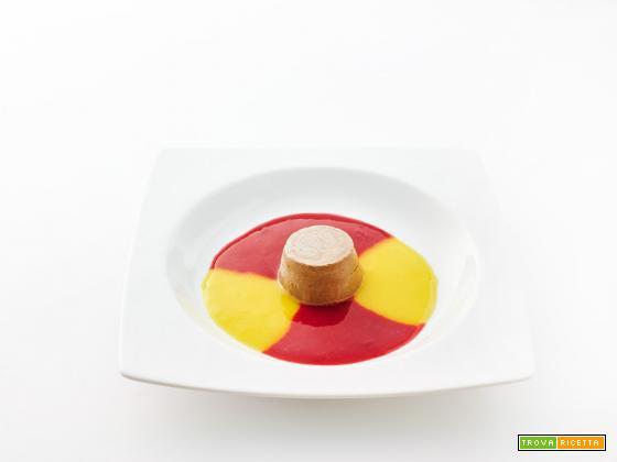 dulcis in fundo – cremoso crudista al cacao con lampone e mango