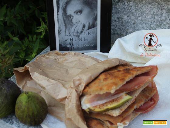 MANGIA CIO` CHE LEGGI 119: pizza, fichi e crudo ispirata da la notte del cuore di Estelle Hunt