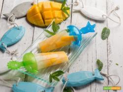 Energia e bontà… con i ghiaccioli al mango e caju!