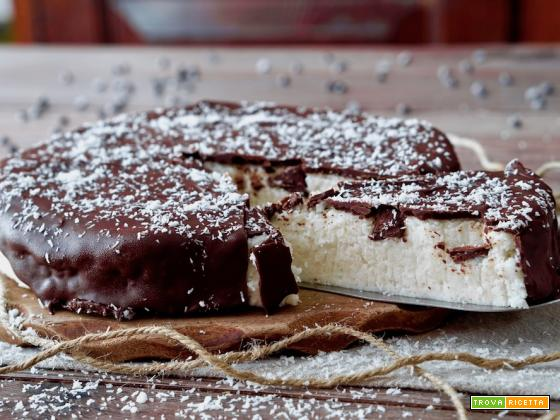 Torta Bounty Senza Cottura