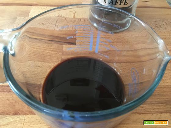 Granita al caffè con panna montata