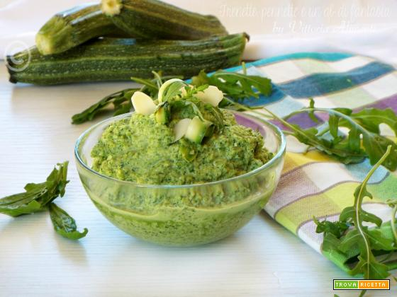 Pesto zucchine e rucola