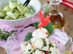 Mozzarelline condite e marinate