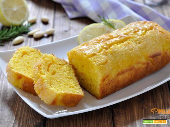 Plumcake al limone e mandorle