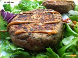 Polpette Hamburger di Merluzzo e Lenticchie Senza Glutine